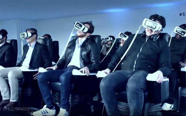 Samsung campagne de lancement du Samsung S7