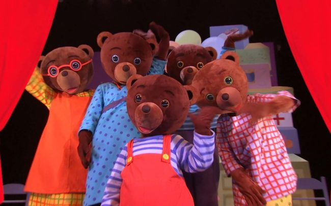 Spectacle Petit Ours Brun
